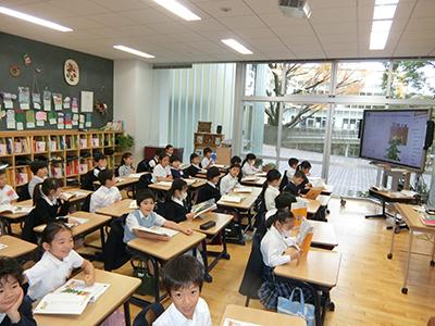 青山学院初等部の英語教育